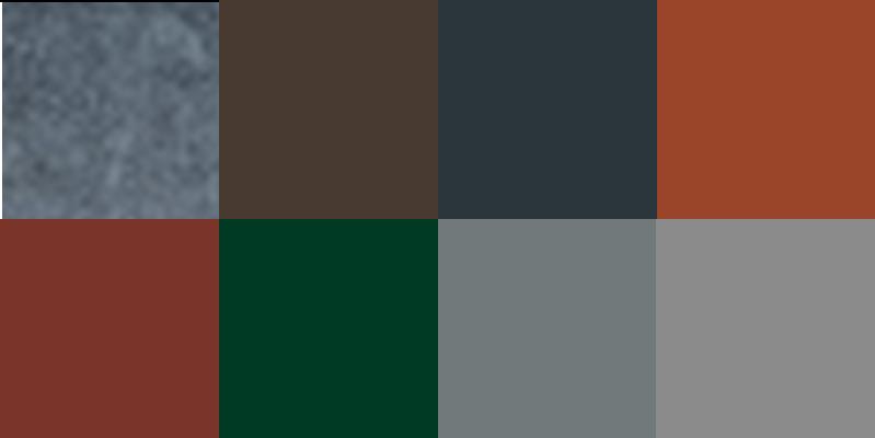 Farbig nur Aluminium Color